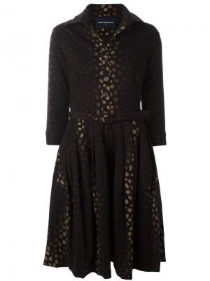Платье Claire Samantha Sung. Цвет: чёрный