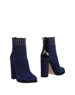 Полусапоги и высокие ботинки GIAMPAOLO VIOZZI. Цвет: темно-синий