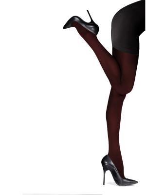 Колготки женские Knittex Mireille. Цвет: бордовый