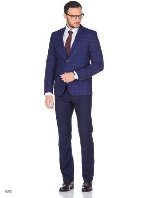 Пиджак CLAUDE. Цвет: синий