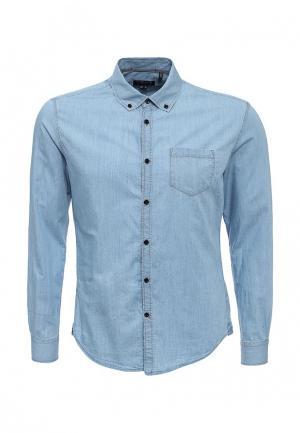 Рубашка джинсовая Woolrich. Цвет: голубой
