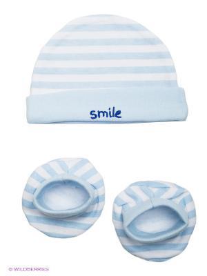 Комплект одежды Luvable Friends. Цвет: голубой