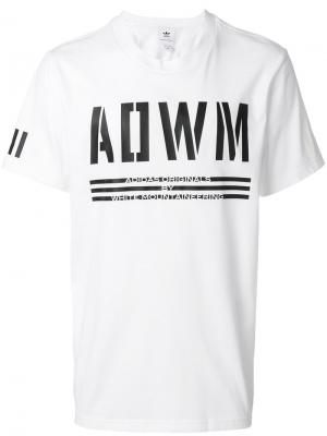 WM T-shirt Adidas By White Mountaineering. Цвет: белый