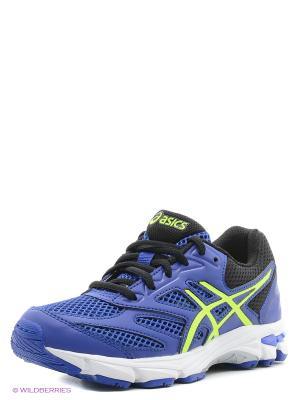 Спортивная обувь GEL-PULSE 8 GS ASICS. Цвет: желтый, синий, черный