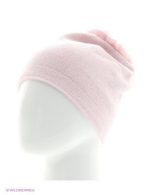Шапка Vittorio Richi. Цвет: бледно-розовый, бежевый