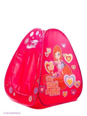 Детская игровая палатка WINX CLUB. Цвет: фуксия