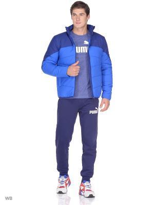 Куртка ESS Padded Jacket PUMA. Цвет: голубой, синий