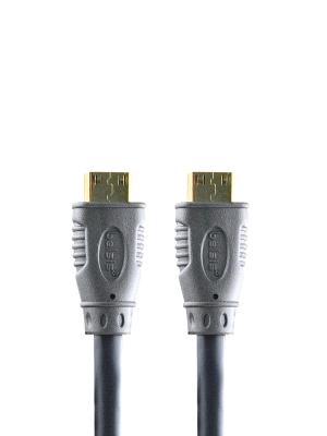 Кабель HDMI вилка - вилка, GOLD, 300. Belsis. Цвет: серый