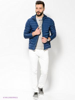 Куртка Bomboogie. Цвет: темно-синий
