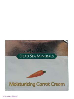 Увлажняющий морковный крем, 50 мл Mon Platin DSM. Цвет: серебристый
