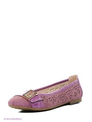 Туфли Bagira. Цвет: лиловый
