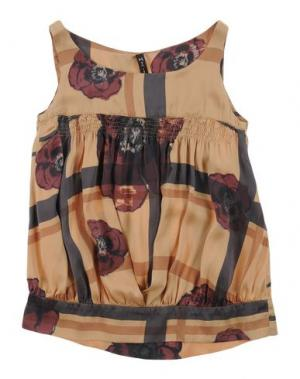 Блузка MANILA GRACE. Цвет: охра