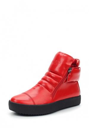 Кеды Inario. Цвет: красный