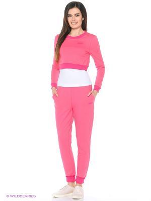 Спортивный костюм FORLIFE. Цвет: розовый