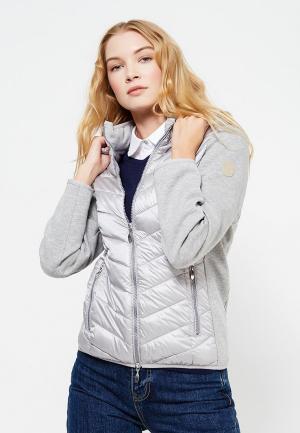 Куртка утепленная Wega. Цвет: серый