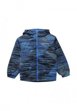 Куртка утепленная Columbia. Цвет: синий