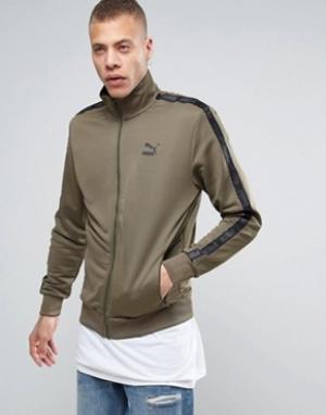 Puma Зеленая спортивная куртка Urban. Цвет: зеленый