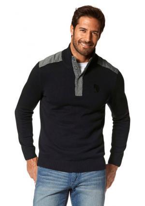 Пуловер Arizona. Цвет: черный