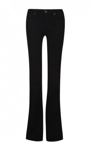 Расклешенные джинсы с карманами Paige. Цвет: черный