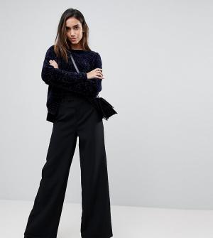 Missguided Широкие брюки. Цвет: черный
