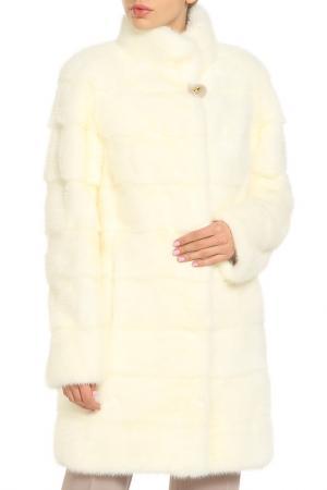 Полупальто ALBERTALLI. Цвет: белый, перламутровый, 87