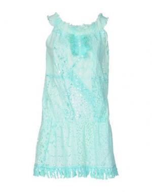 Короткое платье TEMPTATION. Цвет: светло-зеленый