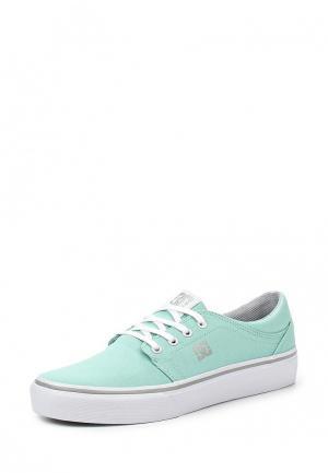 Кеды DC Shoes. Цвет: мятный