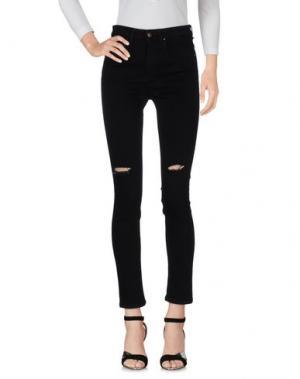 Джинсовые брюки AT.P.CO. Цвет: черный