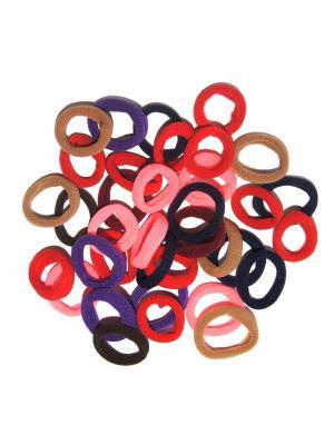 Резиночки, 36 шт Lola. Цвет: фиолетовый,красный,розовый