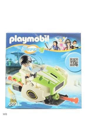 Супер4: Скайджет Playmobil. Цвет: белый