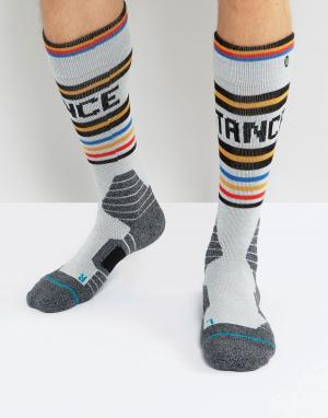 Stance Зимние носки Big Lou. Цвет: серый