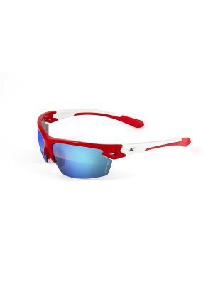 Солнцезащитные очки NRC. Цвет: красный, белый