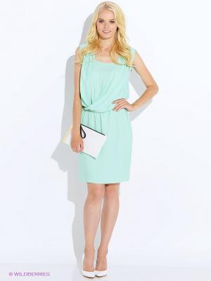 Платье Oky Coky. Цвет: светло-зеленый
