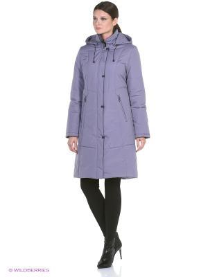 Пальто BARBI Maritta. Цвет: сиреневый