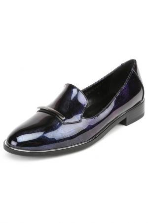 Лоферы Wilmar. Цвет: темно-синий, фиолетовый