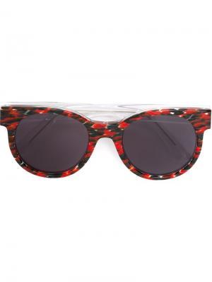 Солнцезащитные очки Avida Dollars Zanzan. Цвет: красный