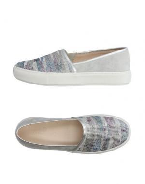 Низкие кеды и кроссовки JANET SPORT. Цвет: светло-серый