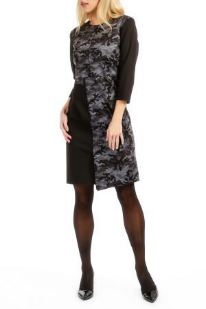 Платье TOK. Цвет: black, grey