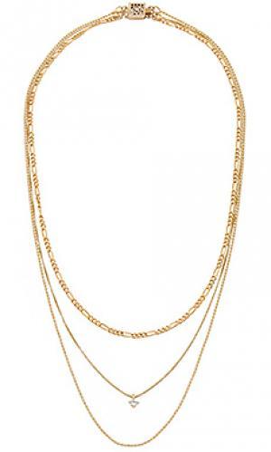 Ожерелье gilded Child of Wild. Цвет: металлический золотой