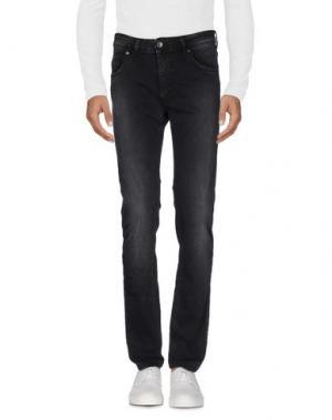 Джинсовые брюки X-CAPE. Цвет: черный