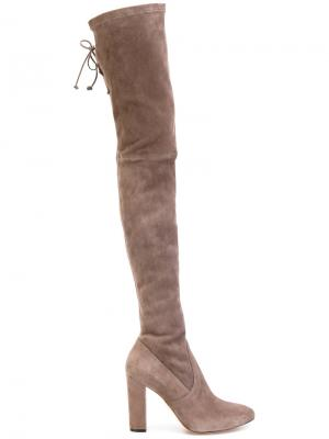 Karmina thigh high boots Jean-Michel Cazabat. Цвет: телесный