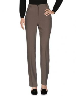 Повседневные брюки L.P. di L. PUCCI. Цвет: серый