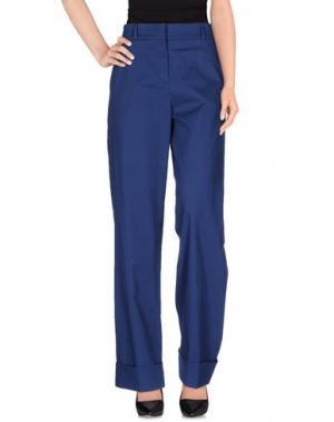 Повседневные брюки QL2 QUELLEDUE. Цвет: темно-синий