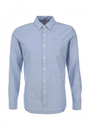 Рубашка Levis® Levi's®. Цвет: голубой