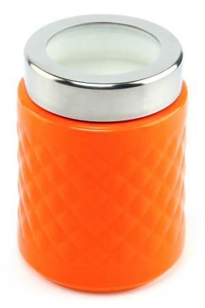 Банка с ручкой, 18 см Patricia. Цвет: оранжевый