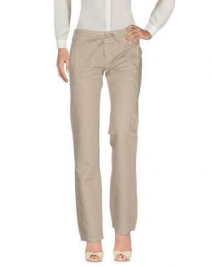 Повседневные брюки TRANSIT PAR-SUCH. Цвет: светло-серый