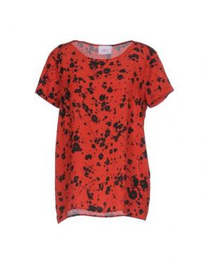 Блузка VIOLET ATOS LOMBARDINI. Цвет: красный