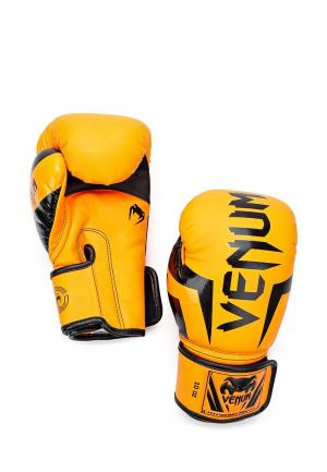 Перчатки боксерские Venum. Цвет: оранжевый