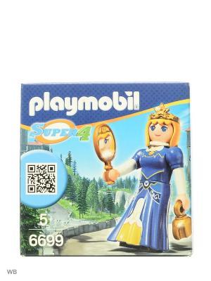 Супер4: Принцесса Леонора Playmobil. Цвет: синий