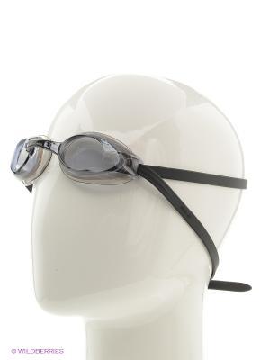 Очки плавательные R14 Larsen. Цвет: черный